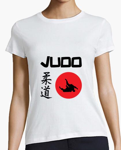 Camiseta camisa de judo - artes marciales - deportes