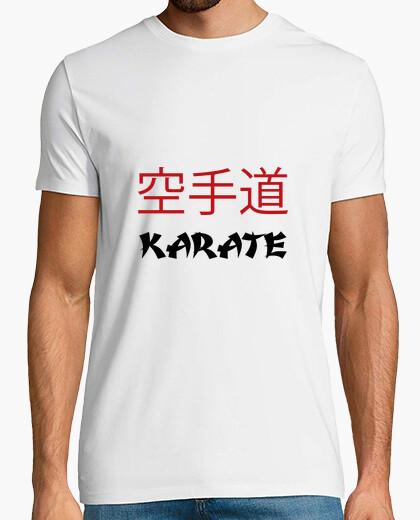Camiseta camisa de karate - arte marcial
