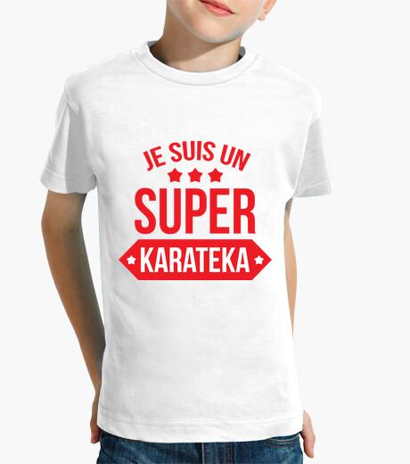 Ropa infantil camisa de karate - artes marciales
