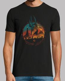 camisa de la búsqueda de la tierra media para hombre