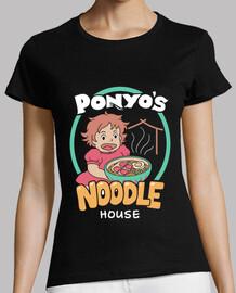 camisa de la casa de los tallarines de los ponyos