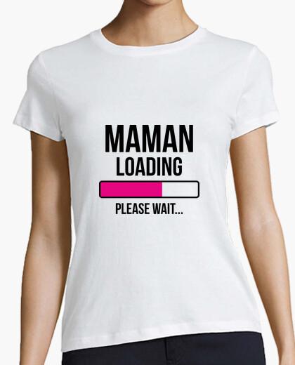 Camiseta camisa de la mamá - nacimiento - baby