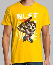 camisa de la matanza del kawaii para hombre