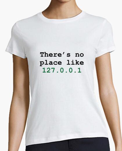 Camiseta camisa de la mujer, blanco, friki / juegos.