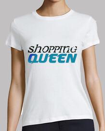 camisa de la mujer reina de compras azul