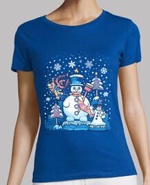camisa de la mujer winterland freezy