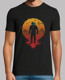 camisa de la opera espacial para hombre