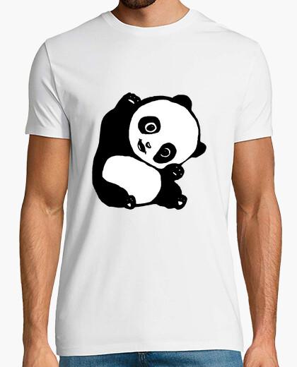 Camiseta camisa de la panda