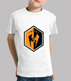 camisa de muay thai - boxeo - boxeador