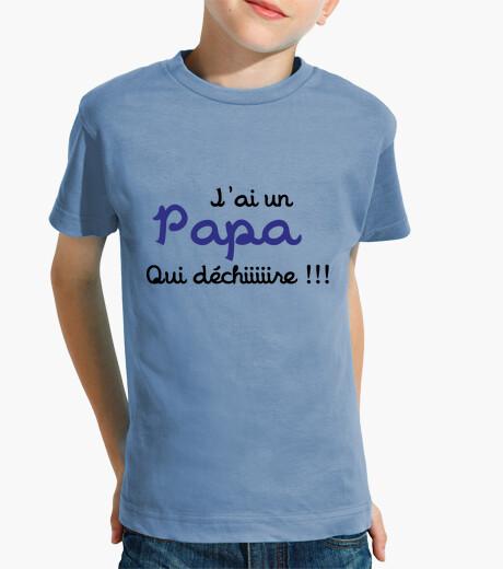 Ropa infantil camisa de papá - el día de padre