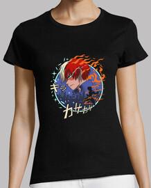 camisa de quirk de fuego y hielo
