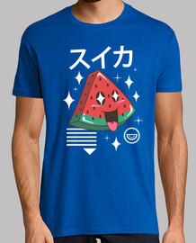 camisa de sandía kawaii para hombre