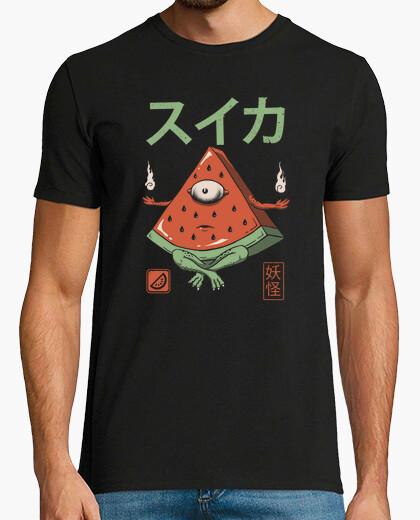 Camiseta camisa de sandía yokai para hombre
