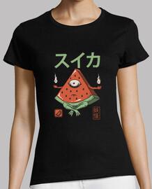 camisa de sandía yokai para mujer