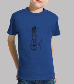 camisa de sirena niño
