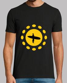 camisa de surf - playa - sol