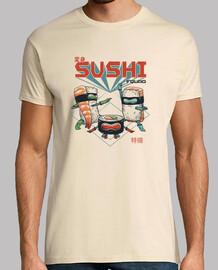 camisa de sushi para hombre