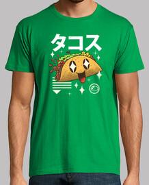camisa de taco kawaii para hombre