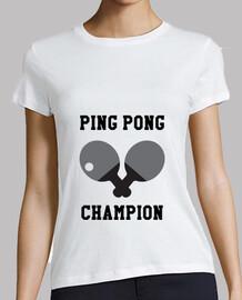 camisa de tenis de la mujer, blanco, de alta calidad