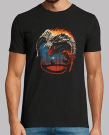 camisa de terror sin nombre para hombre