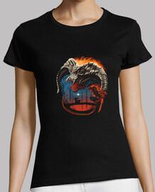 camisa de terror sin nombre para mujer