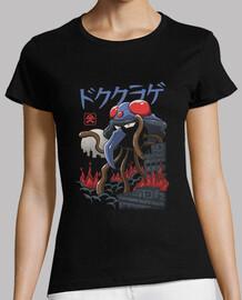 camisa de veneno kaiju para mujer