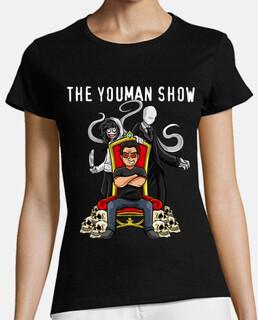 Camisa de youman trono con slenderman y jeff the killer