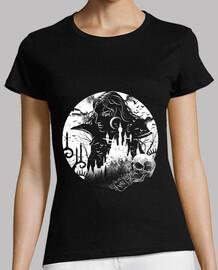 camisa del castillo del vampiro para mujer
