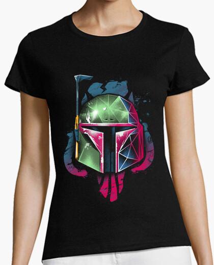 Camiseta camisa del cazador del rad para mujer