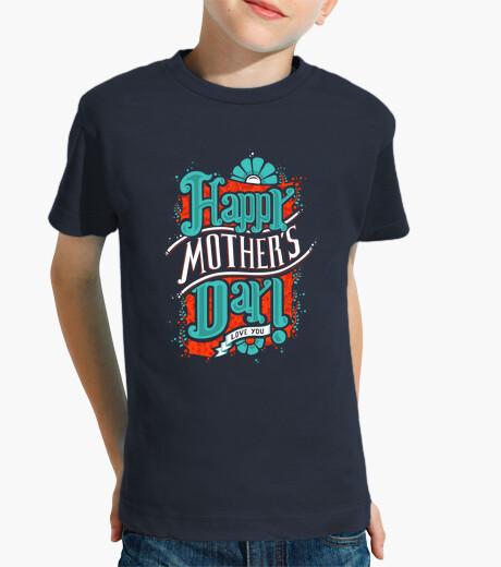 Ropa Infantil Camisa Del Día Del Niño Feliz De La Madre Nº 545119