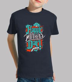 Camisa del día del niño feliz de la madre