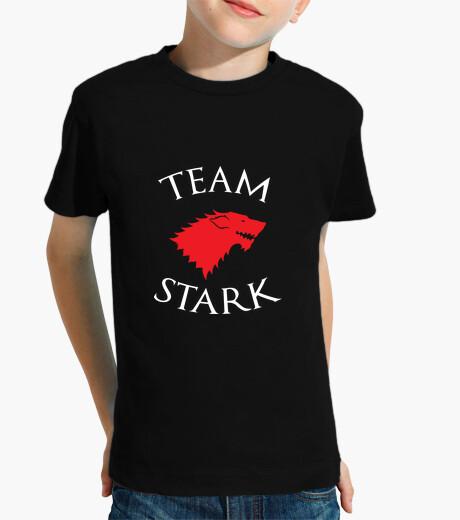 Ropa infantil camisa del equipo de stark - juego de tronos