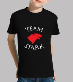 camisa del equipo de stark - juego de tronos