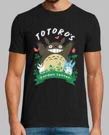camisa del jardín de los totoros para hombre