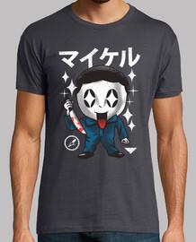 camisa del slasher del kawaii para hombre