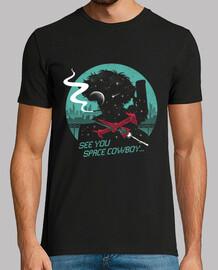 camisa del vaquero del espacio