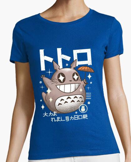 Camiseta camisa del vecino del kawaii para mujer