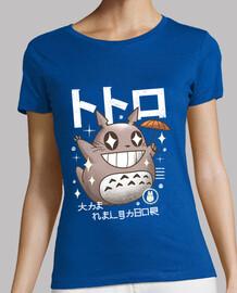 camisa del vecino del kawaii para mujer