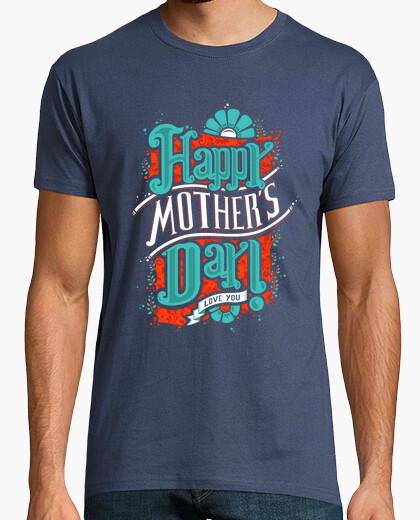 Camiseta Camisa día hombre feliz de la madre