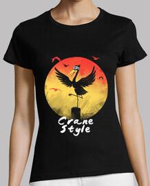 camisa estilo grúa mujeres