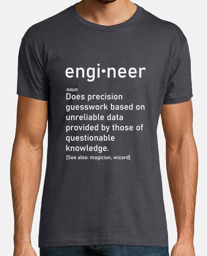 camisa explicación ingeniero