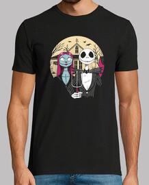 camisa gótica de pesadilla para hombre