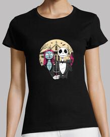 camisa gótica de pesadilla para mujer