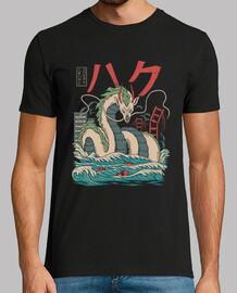 camisa haku kaiju para hombre
