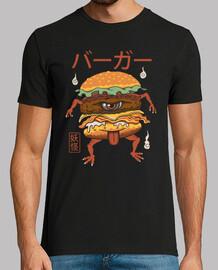 camisa hamburguesa yokai para hombre
