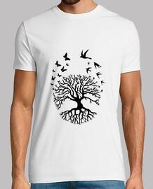 camisa hombre arbol vida sabiduría armonia fc