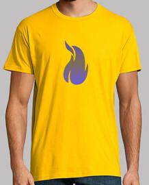 Camisa hombre Manga corta fuego fire