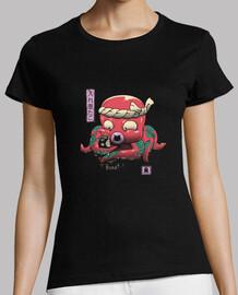 camisa inkedtopus para mujer