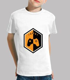 camisa jugador infantil - juego - friki