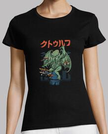 camisa kongthulhu para mujer